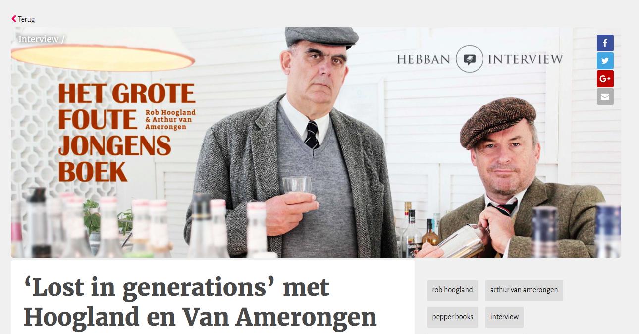 'Lost in generations' met Hoogland en Van Amerongen