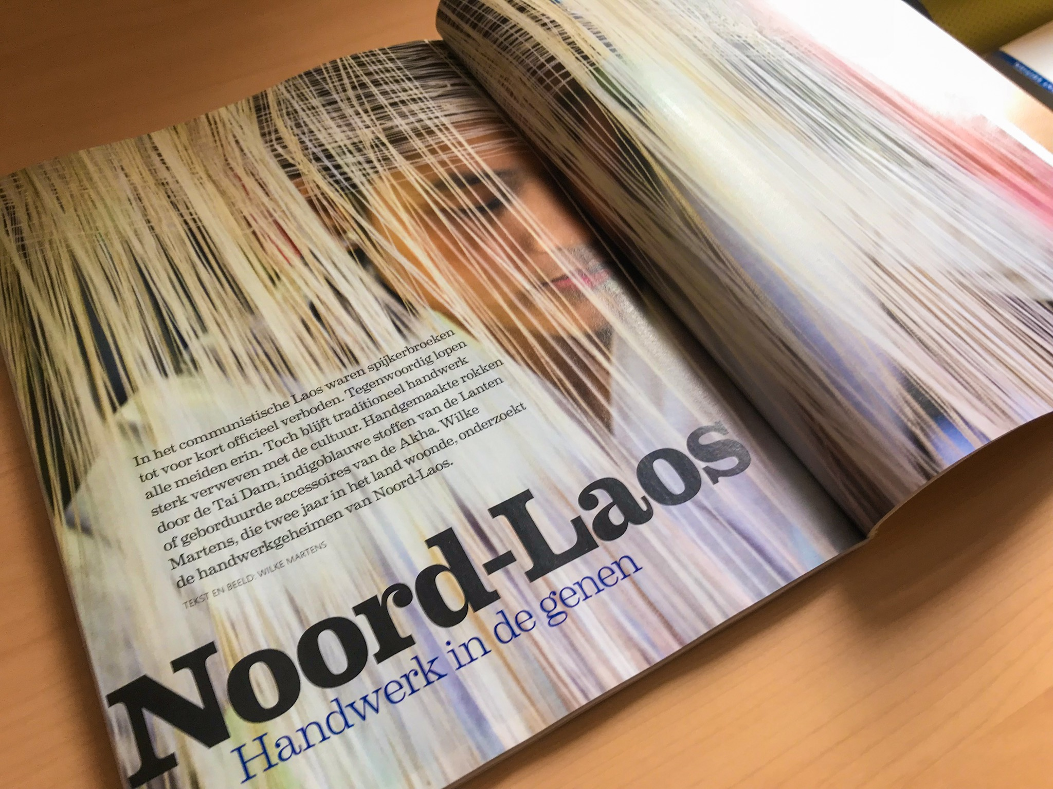 Noord-Laos – handwerk in de genen